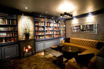 Hudson Bar & Books - NYCCigarBars com - The Guide To Cigar
